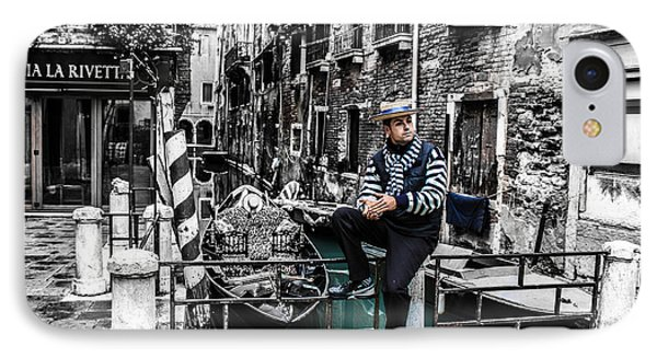 Resting In Venice  IPhone Case by Steven  Taylor