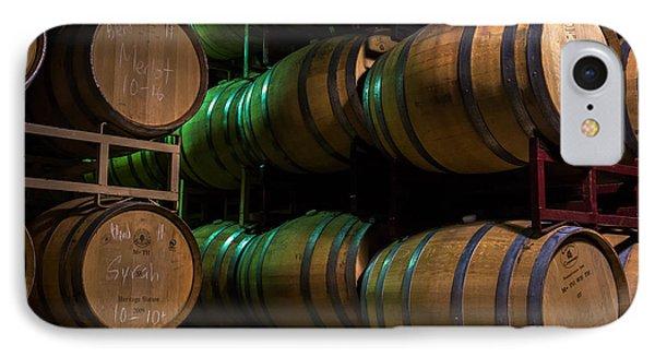 Resting Wine Barrels IPhone Case by Iris Richardson