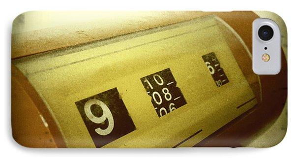 Retro Clock Phone Case by Les Cunliffe