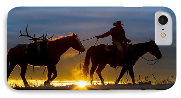 Returning Home IPhone Case by Inge Johnsson
