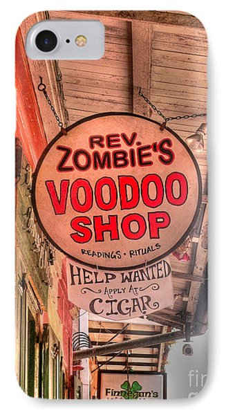 Rev. Zombie's IPhone Case by David Bearden