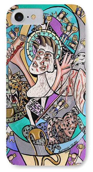 Revelation Chapter 5 6-14 Phone Case by Anthony Falbo