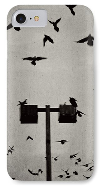 Revenge Of The Birds Phone Case by Trish Mistric