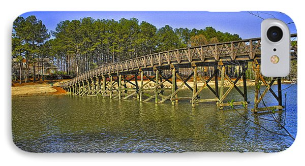 Reynolds Plantation Bridge IPhone Case by Reid Callaway