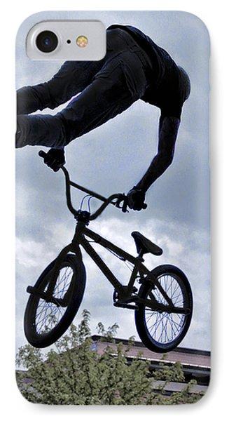 Riding High IPhone Case by David Kehrli