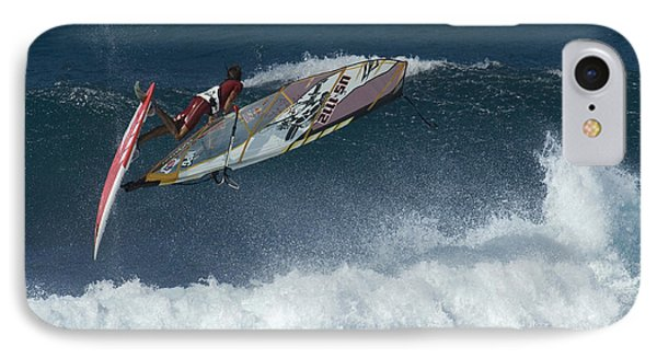 Riding The Wind IPhone Case by Bob Christopher
