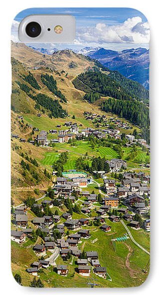 Riederalp Valais Swiss Alps Switzerland Europe Phone Case by Matthias Hauser