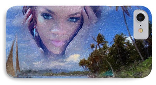 Rihanna Phone Case by Anthony Caruso