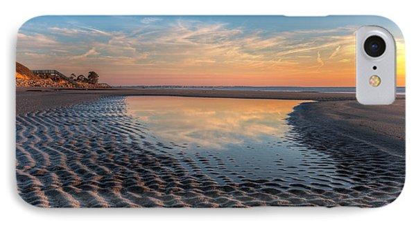 Ripples In The Sand Phone Case by Debra and Dave Vanderlaan