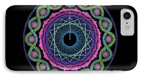 Rising Above Challenges Phone Case by Keiko Katsuta