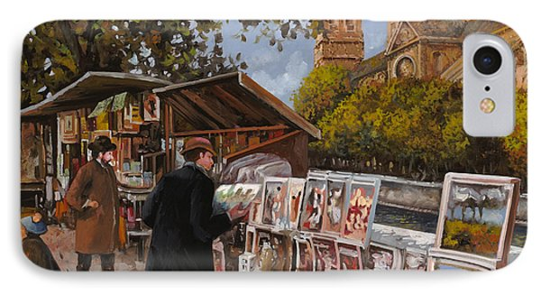 Rive Gouche IPhone Case by Guido Borelli