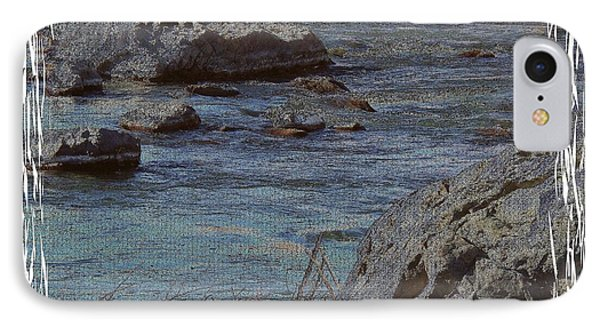 River Flows IPhone Case by Bobbee Rickard