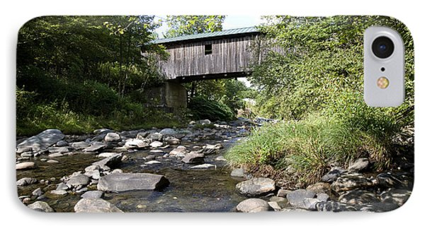 River Gorge Covered Bridge Phone Case by Jim  Wallace