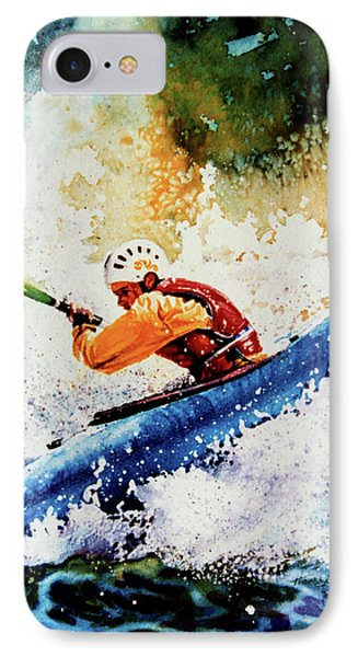 River Rush Phone Case by Hanne Lore Koehler