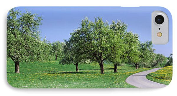 Road Cantone Zug Switzerland IPhone Case by Panoramic Images