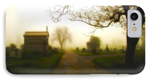 Road To The Mausoleum IPhone Case by Gothicrow Images