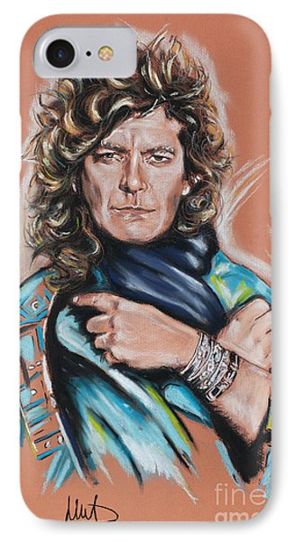 Robert Plant IPhone 7 Case by Melanie D