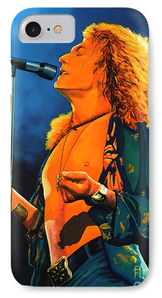 Robert Plant IPhone 7 Case by Paul Meijering