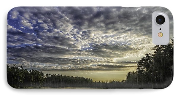 Roberts Branch Pine-lands Landscape IPhone Case by Louis Dallara
