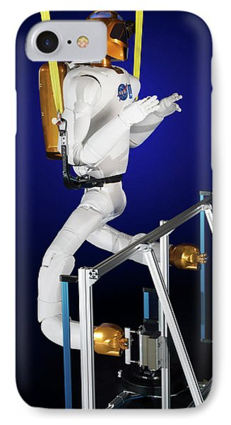 Robonaut 2 Research Laboratory IPhone Case by Nasa, Bill Stafford And James Blair