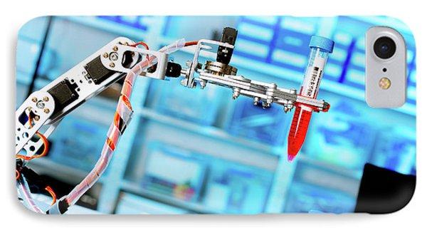 Robotic Lab Assistant IPhone Case by Wladimir Bulgar