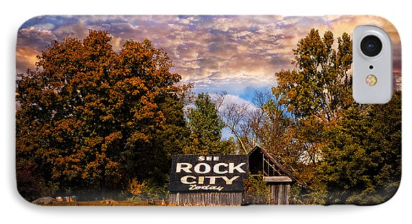Rock City Barn Phone Case by Debra and Dave Vanderlaan