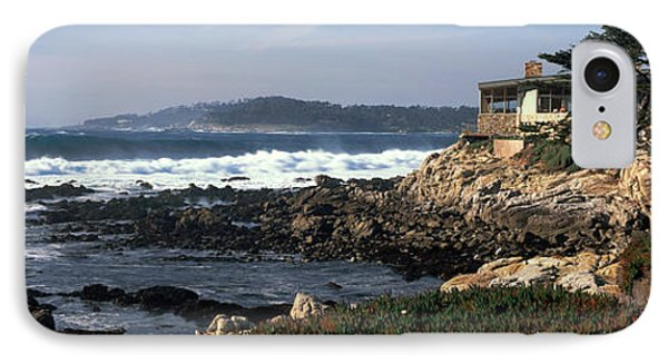 Rock Formations In The Sea, Carmel IPhone Case by Panoramic Images