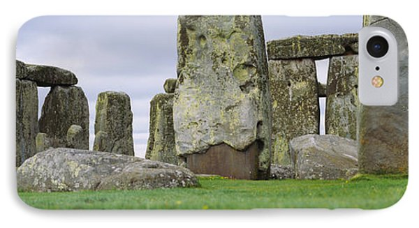 Rock Formations Of Stonehenge IPhone Case by Panoramic Images