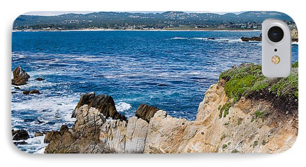 Rock Formations On The Coast, Point IPhone Case by Panoramic Images