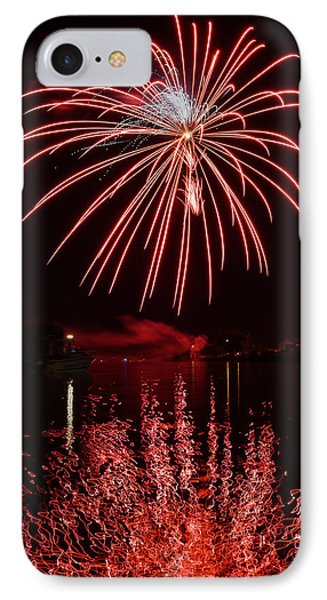 Rocket's Red Glare IPhone Case by Bill Pevlor