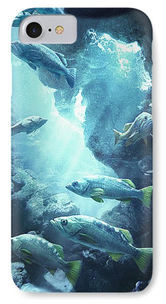 Rockfish Sanctuary IPhone 7 Case by Javier Lazo