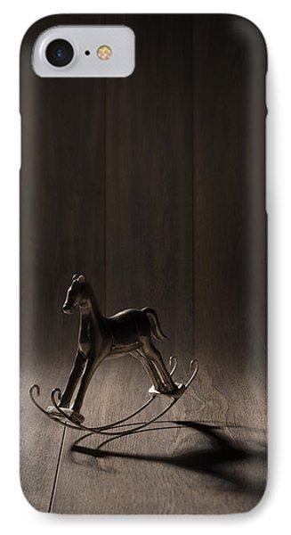 Rocking Horse Phone Case by Amanda Elwell