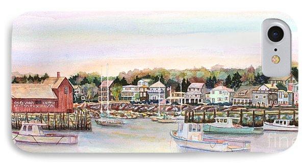 Rockport Harbor Ma Phone Case by Pamela Parsons