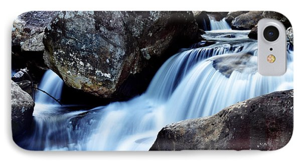 Rocks And Waterfall Phone Case by Adam LeCroy