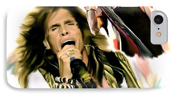 Rocks Gothic Lion II  Steven Tyler IPhone 7 Case by Iconic Images Art Gallery David Pucciarelli