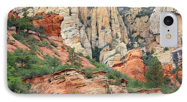 Rocks Of Sedona IPhone Case by Carol Groenen