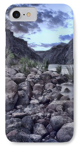 Rocky Beach IPhone Case by Ellen Heaverlo