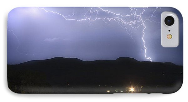 Rocky Mountain Foothills Lightning Extravaganza IPhone Case by James BO  Insogna