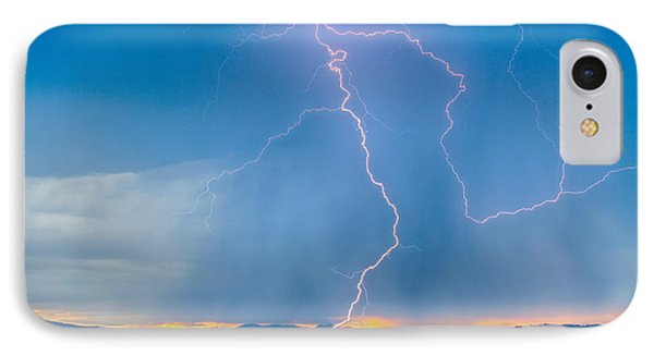 Rocky Mountain Foothills Lightning Strikes 2 Hdr IPhone Case by James BO  Insogna