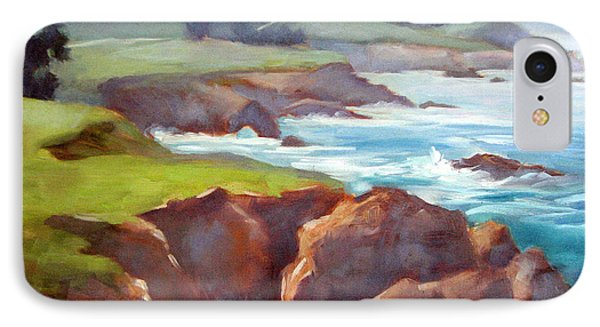 Rocky Point Afternoon Big Sur IPhone Case by Karin  Leonard