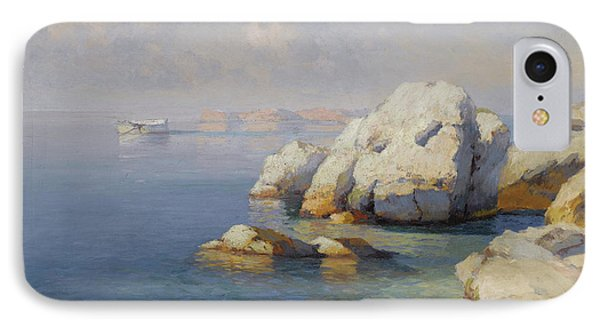 Rocky Shore IPhone Case by Celestial Images