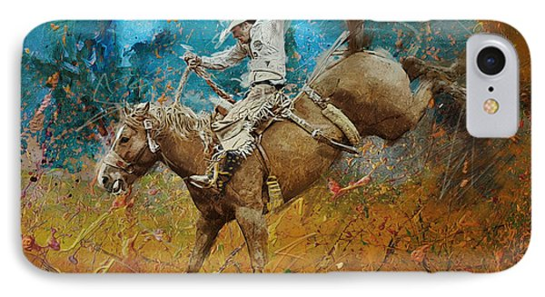 Rodeo 001 IPhone Case by Corporate Art Task Force