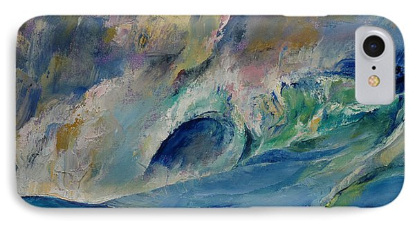 Rogue Wave IPhone Case by Michael Creese