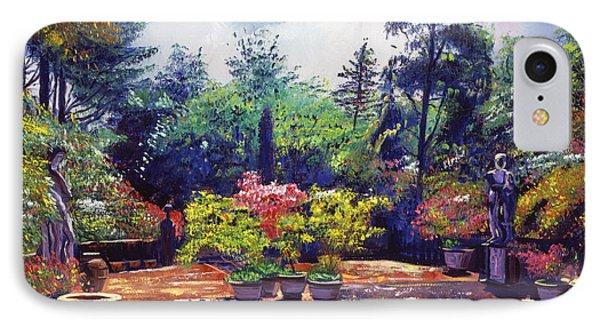 Roma Garden IPhone Case by David Lloyd Glover