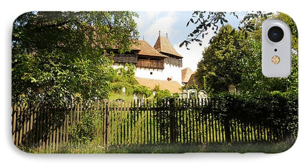 Romanian Fortified Church Phone Case by Ramona Matei