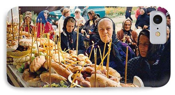 Romanians Celebrating Transfiguration Phone Case by Sarah Loft