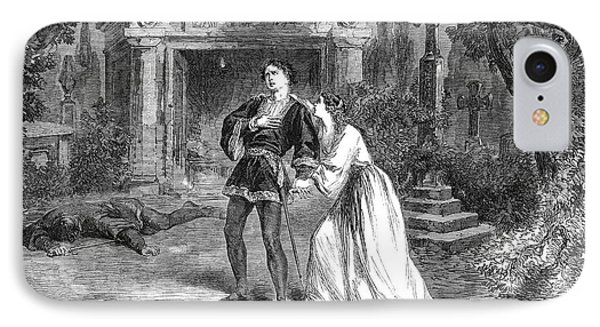 Romeo And Juliet, 1864 IPhone Case by Granger