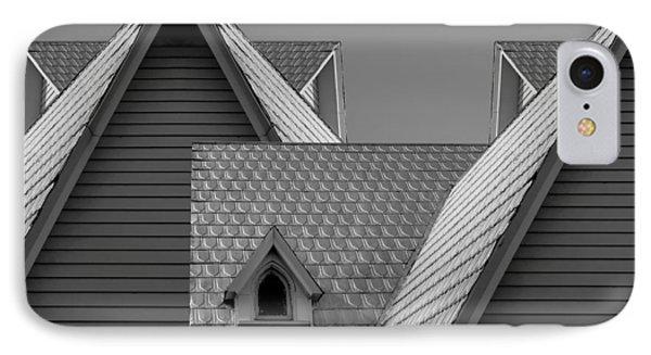 Roof Lines Phone Case by Debra and Dave Vanderlaan