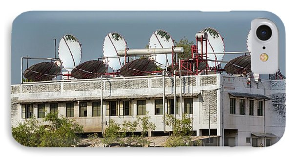 Rooftop Solar Panels IPhone Case by Ashley Cooper