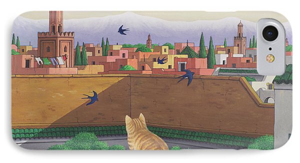 Rooftops In Marrakesh IPhone 7 Case by Larry Smart